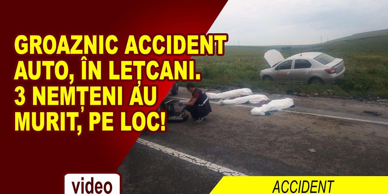 4 AUTOTURISME IMPLICATE ÎNTR-UN TRAGIC ACCIDENT LÂNGĂ IAȘI, 3 MORȚI DIN NEAMȚ
