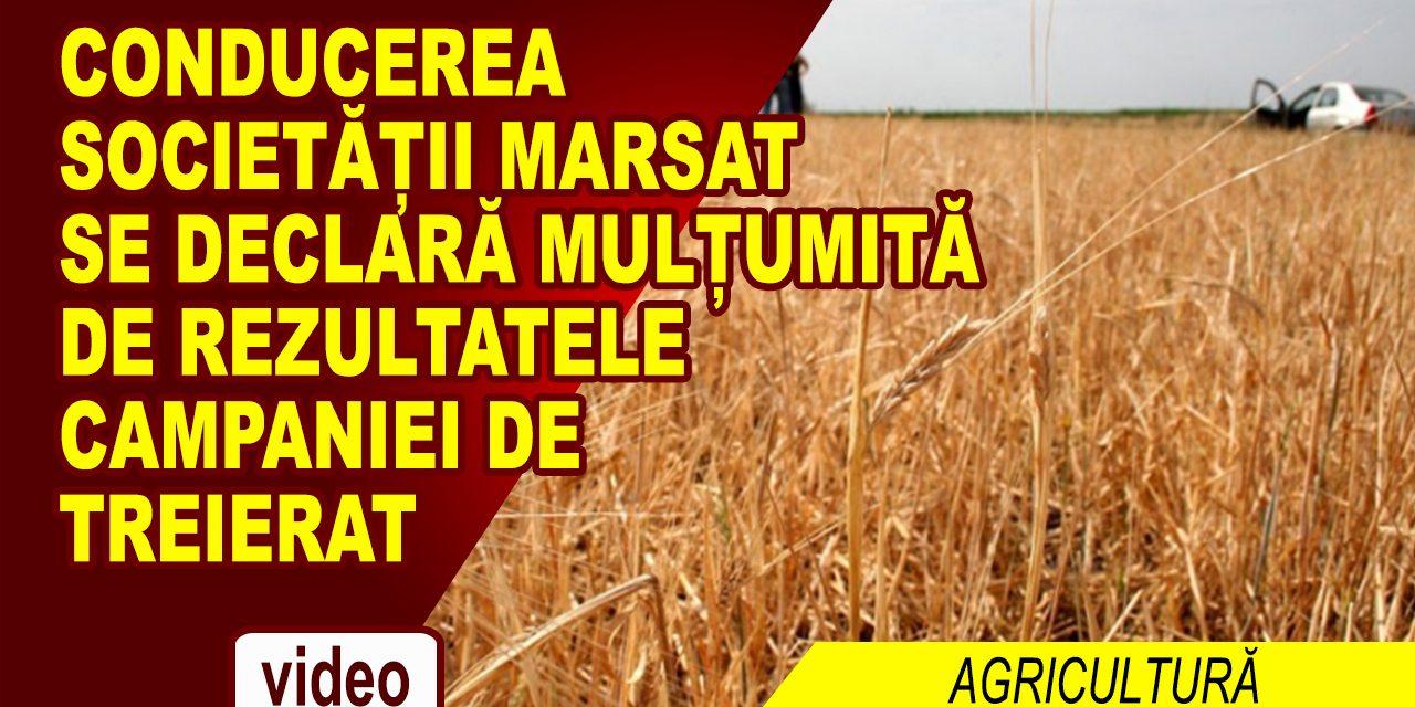 SOCIETATEA MARSAT A ÎNCHEIAT CU BINE CAMPANIA DE TREIERAT