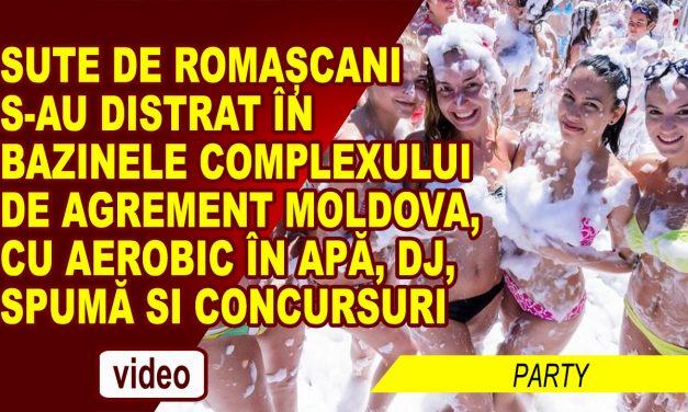 Sute de romașcani s-au distrat in bazinele Complexului de Agrement