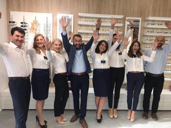 Cum arată noul cabinet Platinum Optic Roman