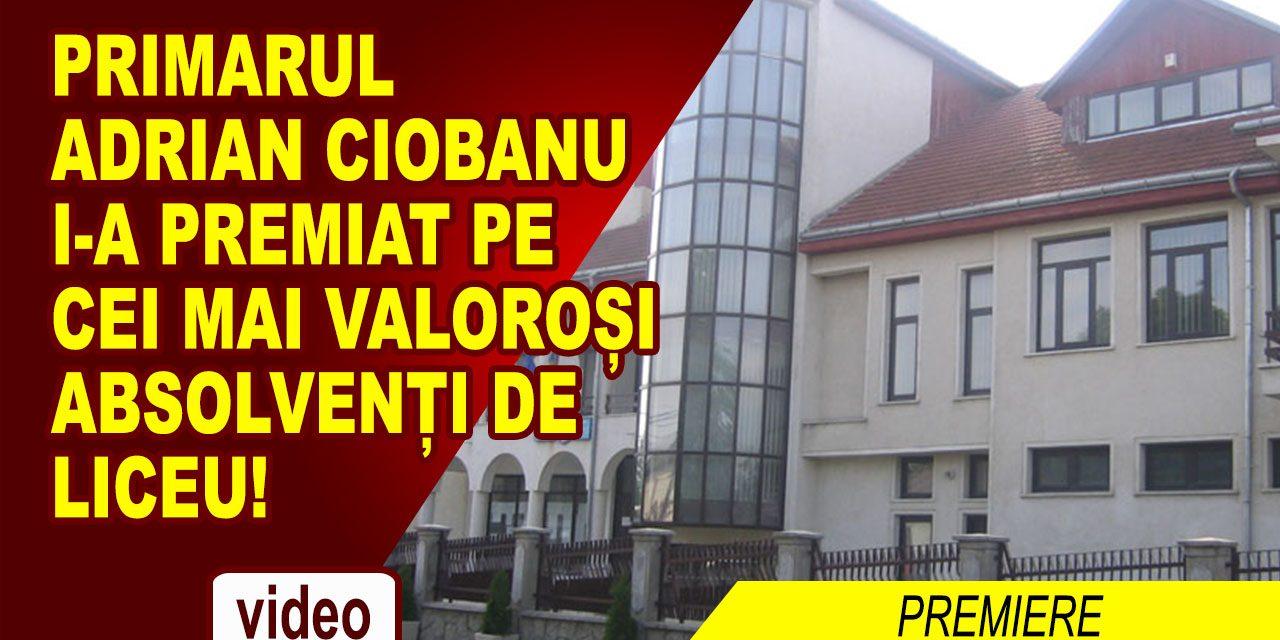 Primarul comunei Cordun, Adrian Ciobanu, a premiat excelența în învățătură