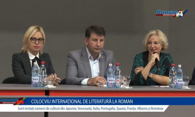 Deschiderea Colocviului Internațional de Literatură
