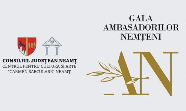 Gala Ambasadorilor Nemțeni 2018 – CALENDARUL EVENIMENTULUI