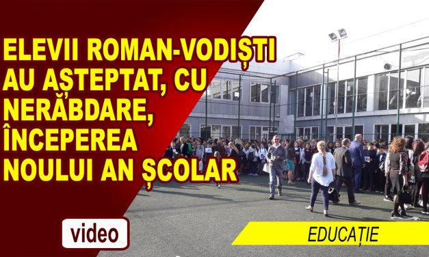 Colegiul Național Roman Vodă și-a redeschis portile pentru un nou an școlar