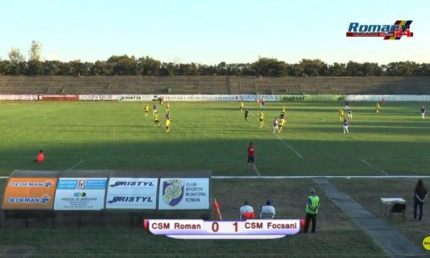 ÎNREGISTRAREA INTEGRALĂ a meciului CSM Roman – CSM Focsani 2007