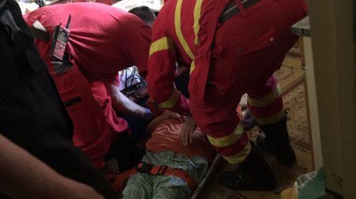 Nici pe trotuar nu mai ești în siguranță! Femeie de 61 de ani, din Piatra Neamț, accidentată de un șofer băut!