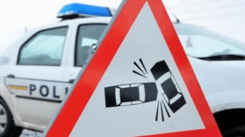 Accident cu 5 victime din cauza nepastrarii distantei de siguranta intre masini
