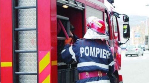 Acum incendiu la un service auto din Neamț