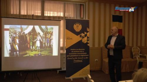 (Video) Membrii Ceccar Neamț au sărbătorit Ziua Drapelului