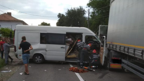 Accident rutier groaznic în această seară în Comuna Grumăzești cu 5 victime