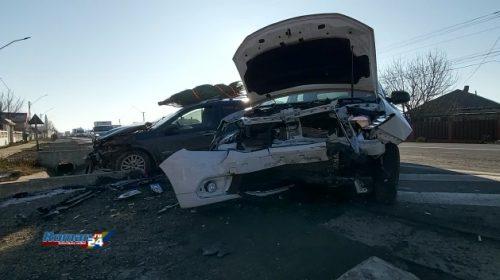 Cum s-a petrecut accidentul de astăzi din localitatea Traian, 3 persoane rănite au fost transportate la spital în vederea acordării de îngrijiri medicale