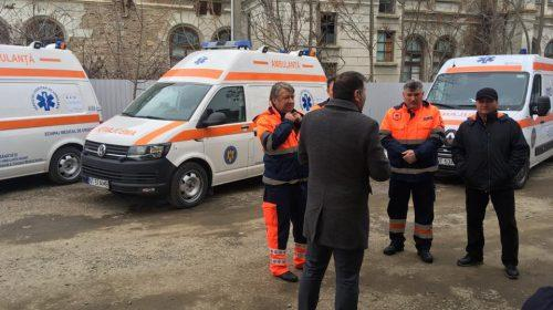 Primar Lucian Micu : Începând de astăzi, trei noi ambulanțe devin funcționale la Stația de Ambulanță Roman