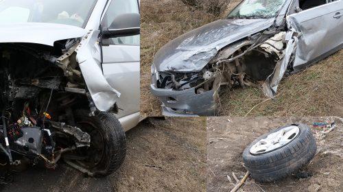 (Video) Accident drumul Săbăoani cu DN2