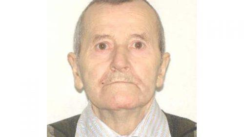 Bărbat de 75 de ani din Neamț , a părăsit în mod voluntar domiciliul în data de 11 februarie 2020, deplasându-se pe raza județului Olt și nu a mai revenit