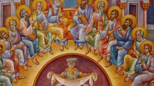 Creştinii ortodocşi prăznuiesc în această duminică Rusaliile, iar luni Sfânta Treime