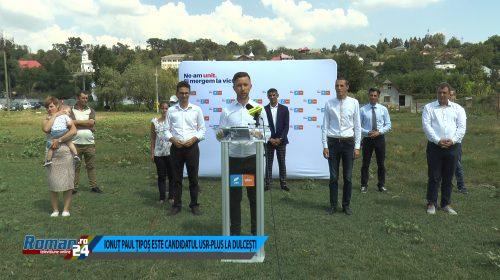 (Video) Iosif Paul Țipoș este candidatul USR PLUS LA FUNCȚIA DE PRIMAR COMUNA DULCEȘTI