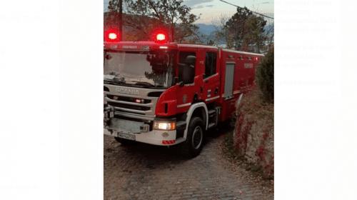 Incendiu la un restaurant din Neamț
