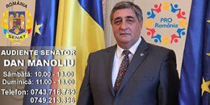 Cabinet Senator Dan Manoliu