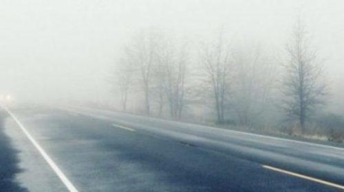 Avertizare METEO: 16 judeţe, sub Cod galben de ceaţă DENSĂ