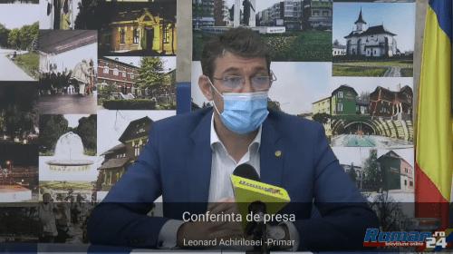 (Video) Conferință de presă primar Leonard Achiriloaei